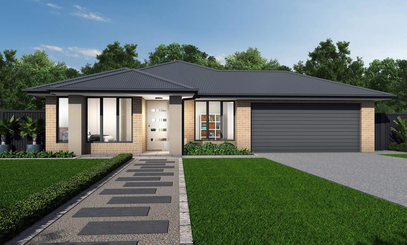 Barossa Two Elite - Hamilton facade - Colorbond